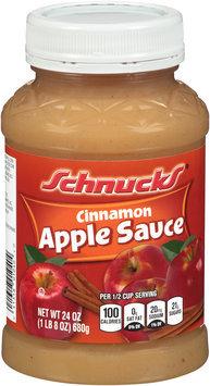 Schnucks® Cinnamon Apple Sauce 24 oz. Jar