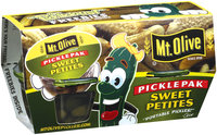 Mt. Olive Sweet Petites Portable Pickles 3.7 Fl Oz Pickle Pak 4 Ct Plastic Cups