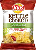 LAY'S® Kettle Cooked 40% Less Fat Sun-Dried Tomato & Parmesan Potato Chips