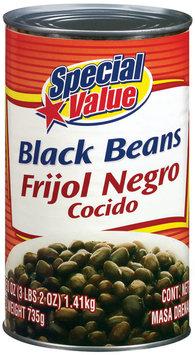 Special Value Black Beans