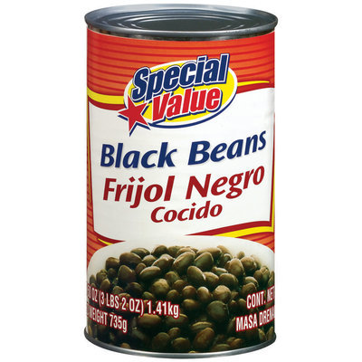 Special Value Black Beans
