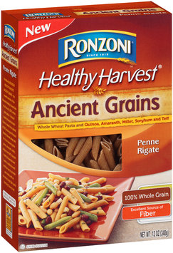 Ronzoni® Healthy Harvest® Ancient Grains Penne Rigate 12 oz. Box