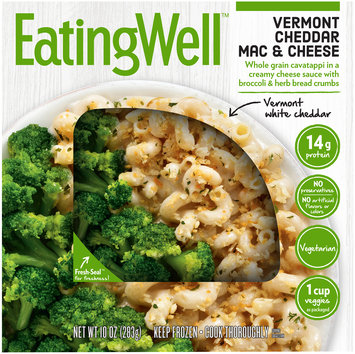 Eating Well™ Vermont White Cheddar Mac & Cheese 10 oz. Box