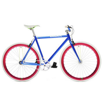Ideacycle Original 2014 Fixed Gear Road Bike Size: 48cm, Color: Blue