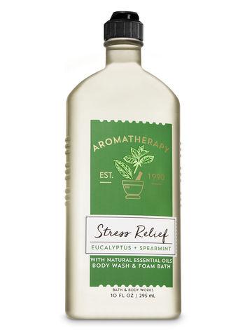 Bath & Body Works Aromatherapy EUCALYPTUS & SPEARMINT Body Wash & Foam Bath