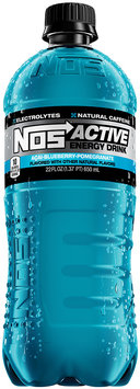 NOS Active Energy Drink Acai-Blueberry-Pomegranate 22 fl. oz. Plastic Bottle