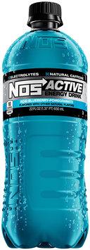 NOS Active Energy Drink Acai-Blueberry-Pomegranate 22 fl. oz. Plastic Bottle