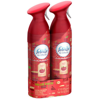Air Effects Febreze Air Effects Apple Tart Twin Pack Air Freshener (2 Count, 19.4 oz)