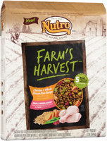 Nutro® Farm's Harvest™ Small Breed Adult Chicken & Whole Brown Rice Recipe Dog Food 12 lb. Bag