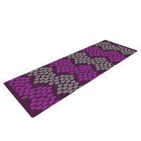 Kess Inhouse Pattern #2 by Deepti Munshaw Chevron Yoga Mat