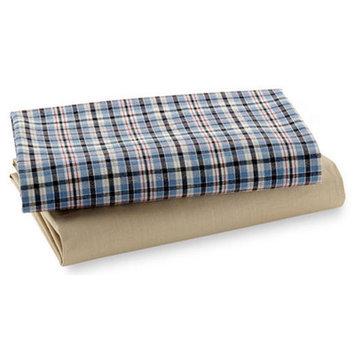 Bacati Aidan Fitted Crib Sheets 2-pk.