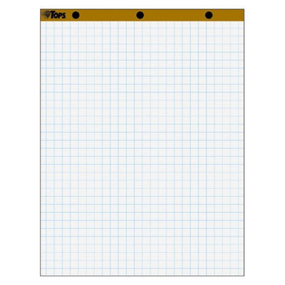 Tops Business Forms Easel Pad, 15Lb, 1