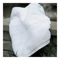 Peacock Alley FAN-B-WHT Fanfare Bath Towel in White