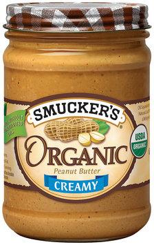 Smucker's Natural Organic Creamy Peanut Butter 16 Oz Jar