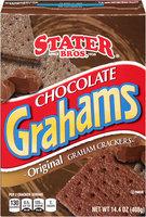 Stater Bros.® Chocolate Grahams Original Graham Crackers 14.4 oz. Box
