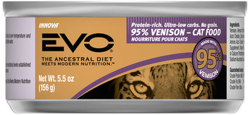 Evo® 95% Venison Cat Food 5.5 oz. Can