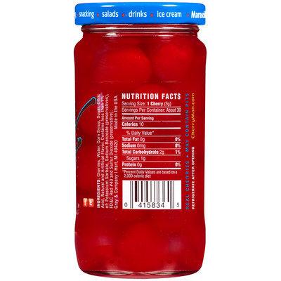 CherryMan® Maraschino Cherries 10 oz. Jar