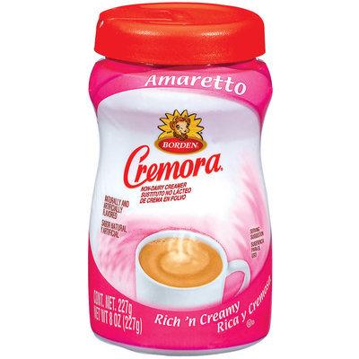 Cremora Amaretto Non-Dairy Creamer 8 Oz Plastic Bottle