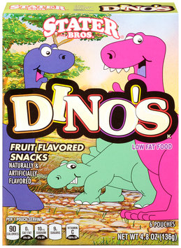Stater Bros.® Dino's Assorted Fruit Snacks 4.8 oz. Box