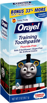 Orajel™ Tooty Fruity Training Toothpaste 2 oz. Box