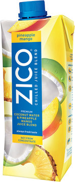 Zico® Pineapple Mango Chilled Juice Blend 16.9 fl. oz. Aseptic Carton