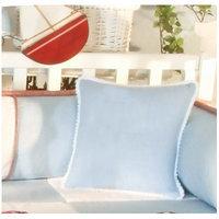 Brandee Danielle Sail Away Decorator Cotton Throw Pillow