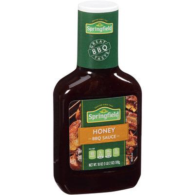 Springfield® Honey Barbeque Sauce 18 oz. Bottle