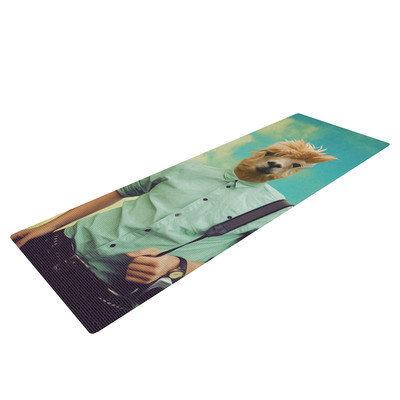 Kess Inhouse Passenger 1B by Natt Llama Yoga Mat