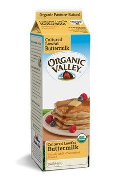 Organic Valley® Lowfat 1% Buttermilk, Pasteurized, Quart