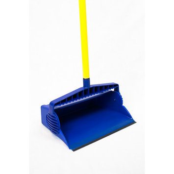 Yellow Top Pro Series Lobby Dust Pan with Straight Handle