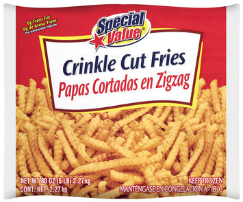 Special Value® Crinkle Cut French Fries