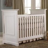 Munir Furniture Chesapeake 3-in-1 Convertible Crib Finish: White