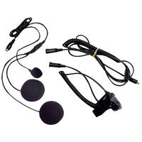 Midland Radio AVPH2 Closed Face Helmet Headset Kit