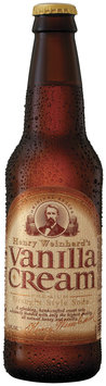 Henry Weinhard's Vanilla Cream Gourmet Soda 12 Oz Glass Bottle