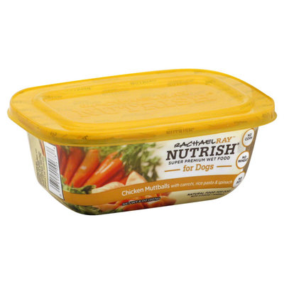 Nutrish Chicken Muttballs With Pasta