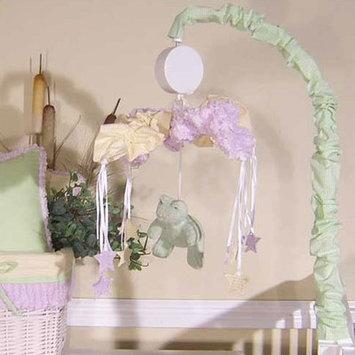 Brandee Danielle Froggie Lavender Musical Crib Mobile