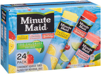 Minute Maid® Soft Frozen Lemonade/Limeade Variety Pack 24-4 fl. oz. Tubes