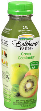 Bolthouse Farms® Green Goddess® 100% Fruit Juice Smoothie 11 fl. oz. Bottle