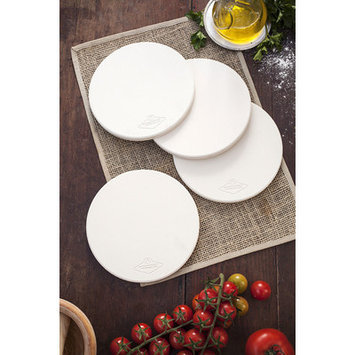Alfresco Home Llc Fornetto 8 in. Round Mini Pizza Stone - Set of 4