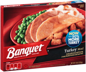 Banquet® Turkey Meal 10 oz.Box