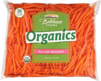 Bolthouse Farms® Organics Premium Matchstix® Julienned Carrots 10 oz. Bag