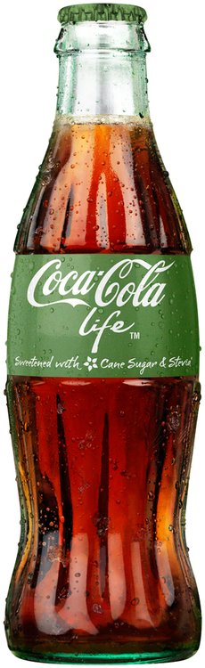 Coca-Cola Life™ 8 fl. oz. Glass Bottle
