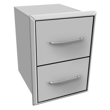 Coyote Grills 2 Drawer Cabinet