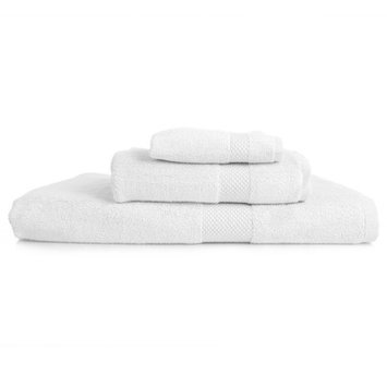 Nine Space Resort 3 Piece Towel Set Color: White
