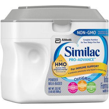 Similac® Pro-Advance™ Infant Formula Powder with Iron 23.2 oz. Tub