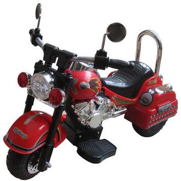 Merske Llc 6V Harley Style Kids Motorcycle Color: Red