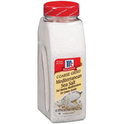 McCormick Coarse Grind Mediterranean  Sea Salt 43 Oz Shaker