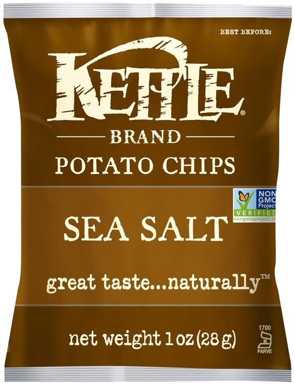 Kettle Brand® Sea Salt Potato Chips 1 oz. Bag