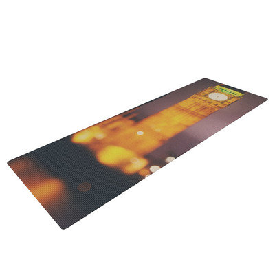 Kess Inhouse Westminster at Night by Laura Evans Yoga Mat