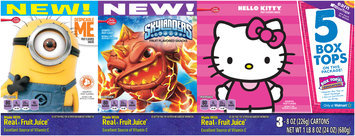 Betty Crocker® Despicable Me™/Skylanders™/Hello Kitty® Fruit Flavored Snacks Variety Pack 3-8 oz. Boxes